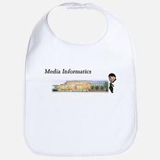 Cute Media Bib