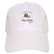 i'm going to be a big sister owl shirt Cap