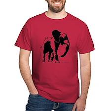 Elephanter (Black) T-Shirt