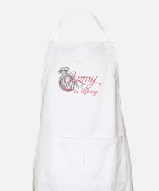 Army Wife in Training BBQ Apron
