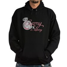 Army Wife in Training Hoodie