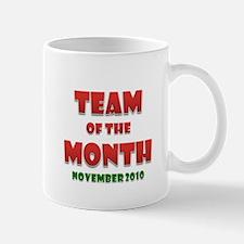 Team Of The Month November Mug