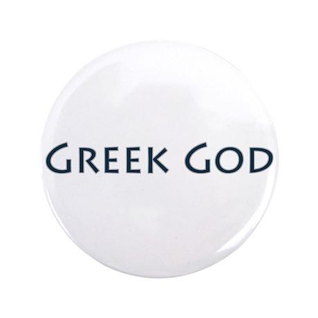 "Greek God 3.5"" Button"