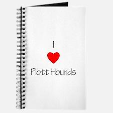 I Love Plott Hounds Journal