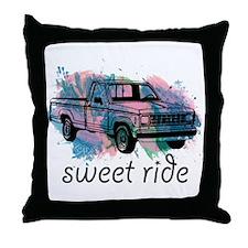 sweet ride Throw Pillow