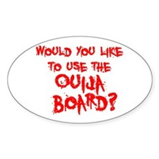 Paranormal Ouija Board Oval Decal