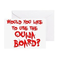 Paranormal Ouija Board Greeting Card
