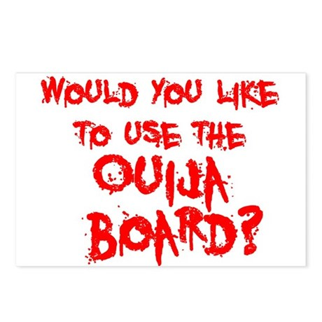Paranormal Ouija Board Postcards (Package of 8)