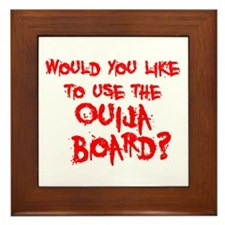 Paranormal Ouija Board Framed Tile