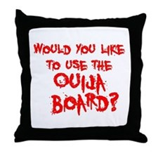 Paranormal Ouija Board Throw Pillow