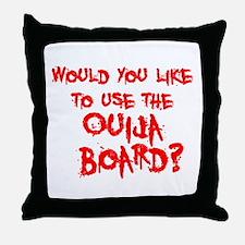 Paranormal Ouija Board Throw Pillow