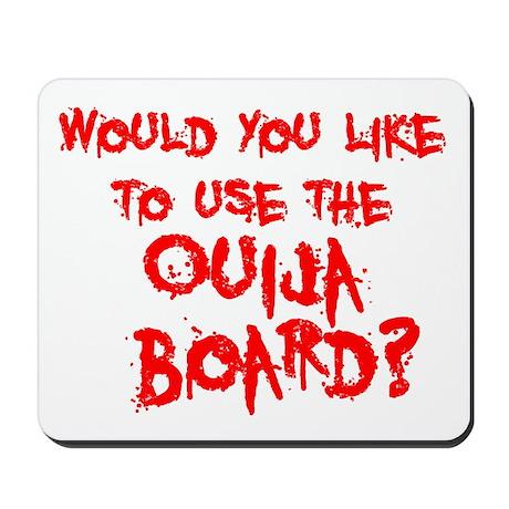 Paranormal Ouija Board Mousepad