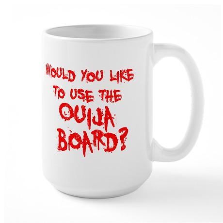 Paranormal Ouija Board Large Mug