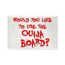 Paranormal Ouija Board Rectangle Magnet