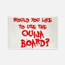 Paranormal Ouija Board Rectangle Magnet
