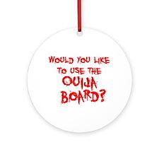 Paranormal Ouija Board Ornament (Round)