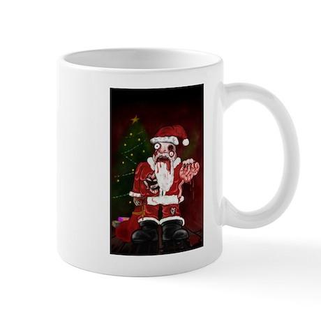 Zombie Santa Mug