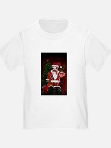 Zombie Santa T