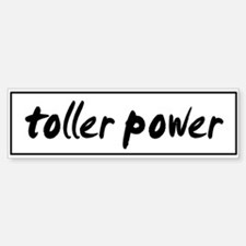 Toller POWER Bumper Bumper Bumper Sticker