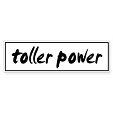 Toller POWER Bumper Bumper Sticker