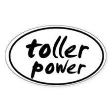 Toller POWER Oval Decal