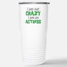 crazy actress Stainless Steel Travel Mug