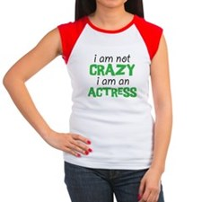 crazy actress Women's Cap Sleeve T-Shirt