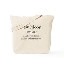 New Moon So Sad Tote Bag