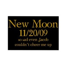 New Moon So Sad Rectangle Magnet