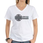 Where's a Big Gladiator... Women's V-Neck T-Shirt