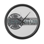 Where's a Big Gladiator... Large Wall Clock