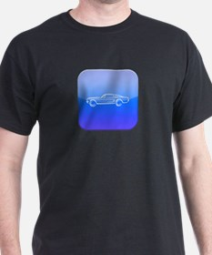1967 Ford i Mustang Fastback T-Shirt