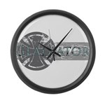 Big Gladiator Large Wall Clock
