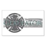 Big Gladiator Rectangle Sticker