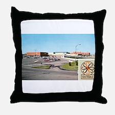 1950's Southdale Center Throw Pillow