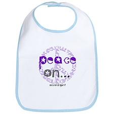 Peace On... Bib