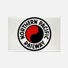 Northern Pacific Rectangle Magnet