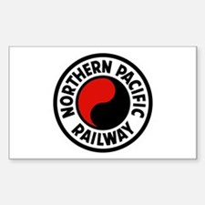 Northern Pacific Rectangle Decal