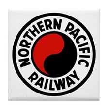 Northern Pacific Tile Coaster