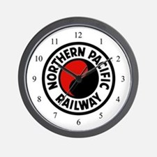 Northern Pacific Wall Clock