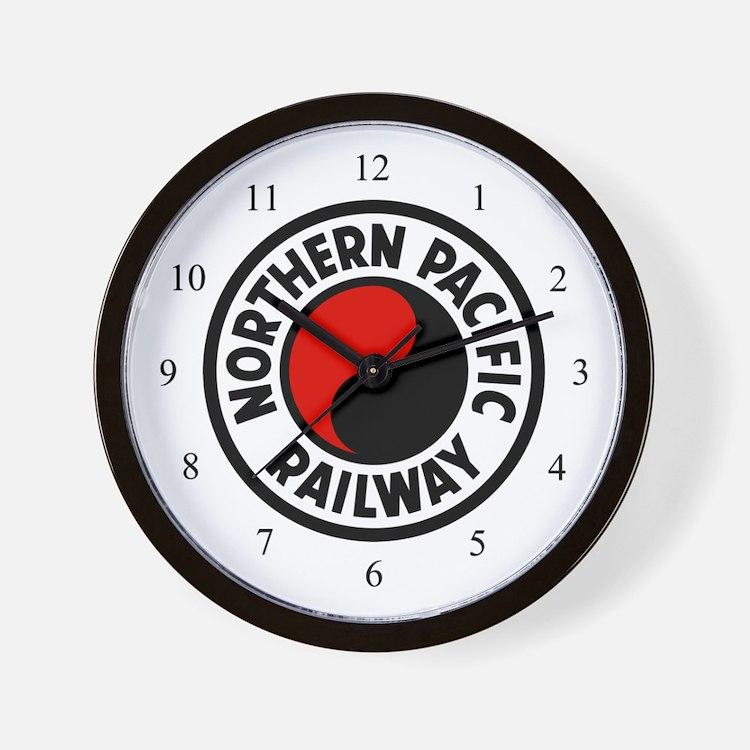 Northern Pacific Wall Clock