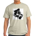 Obey the Scottie! Ash Grey T-Shirt
