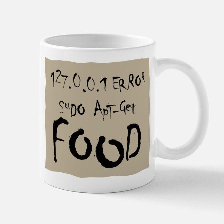 Homeless Linux Geek Mug