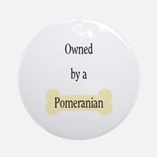 Owned by a Pomeranian Ornament (Round)