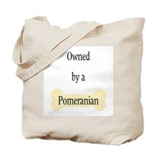 Owned by a Pomeranian Tote Bag
