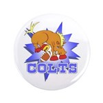 "Colts Football 3.5"" Button (100 pack)"