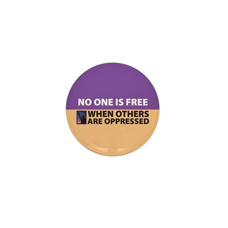 No One Is Free Mini Button (10 pack)