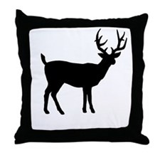 SHADOW BUCK - Throw Pillow