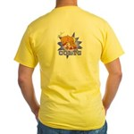 Colts Football Yellow T-Shirt