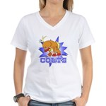 Colts Football Women's V-Neck T-Shirt